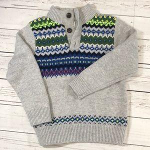 Toddler Boys Baby Gap sweater size 5 Toddler EUC